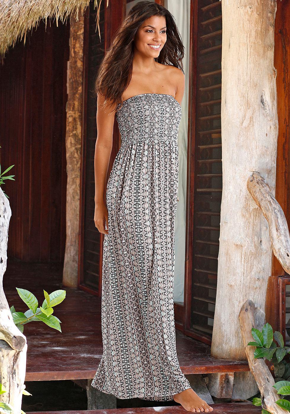 Lascana Maxi-jurk multicolor