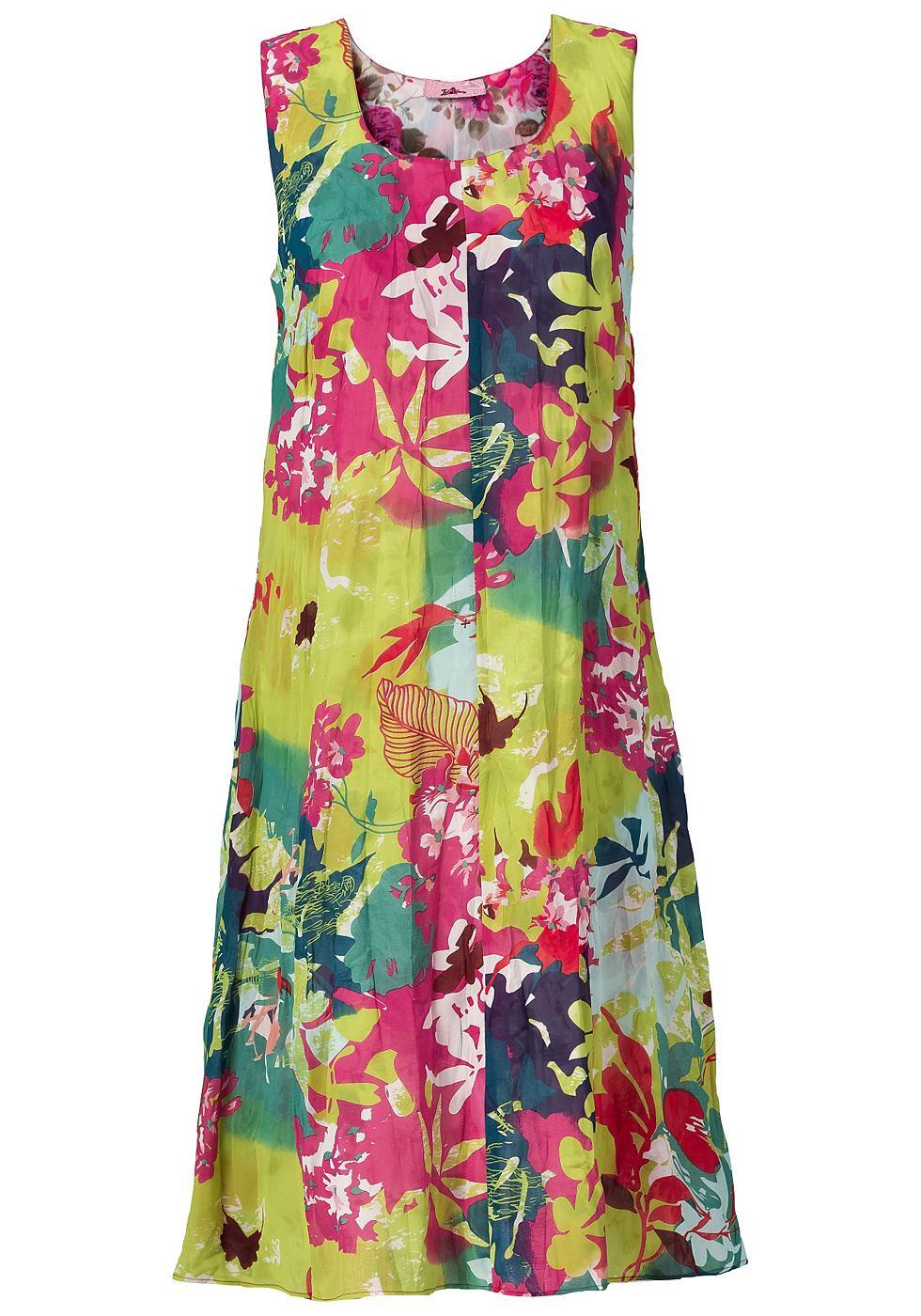 NU 21% KORTING: Joe Browns zomerse reversible-jurk multicolor