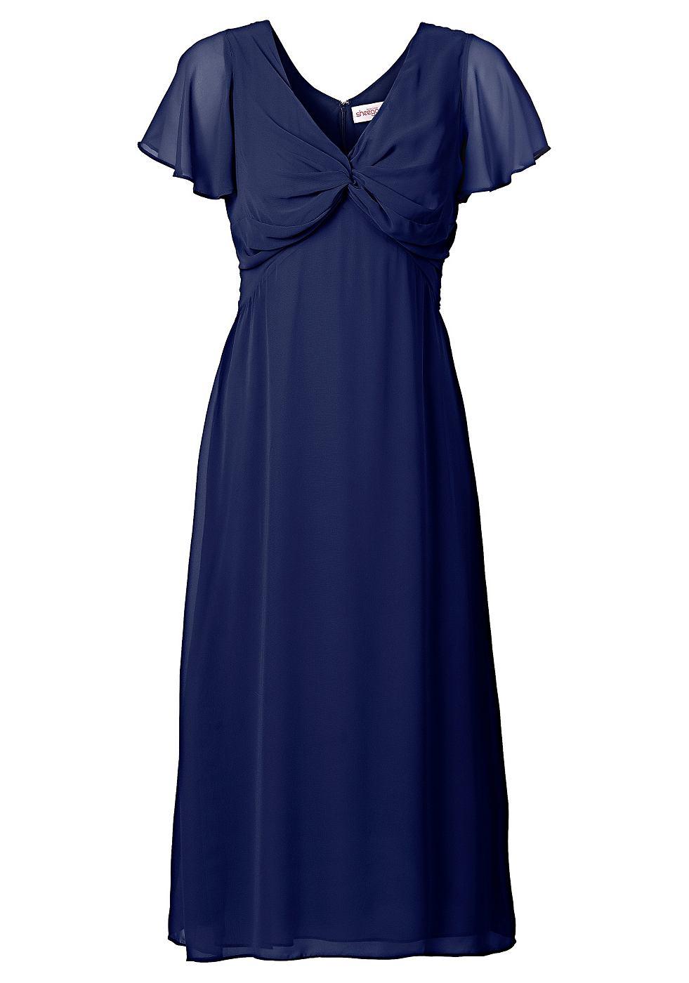 Sheego Style cocktailjurk blauw