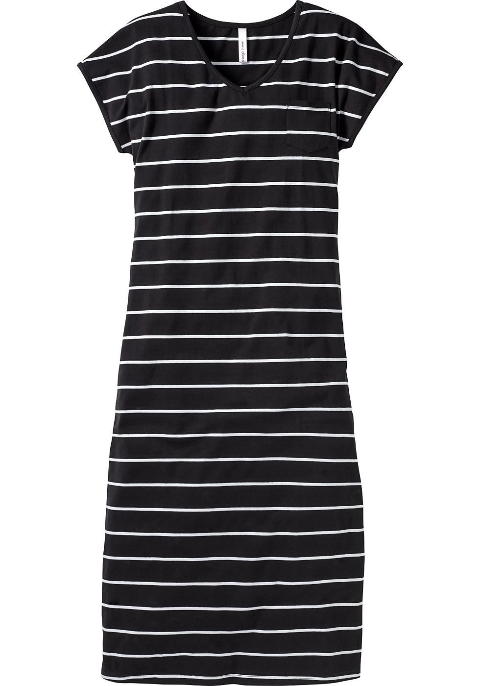 Sheego Casual maxi-jurk zwart