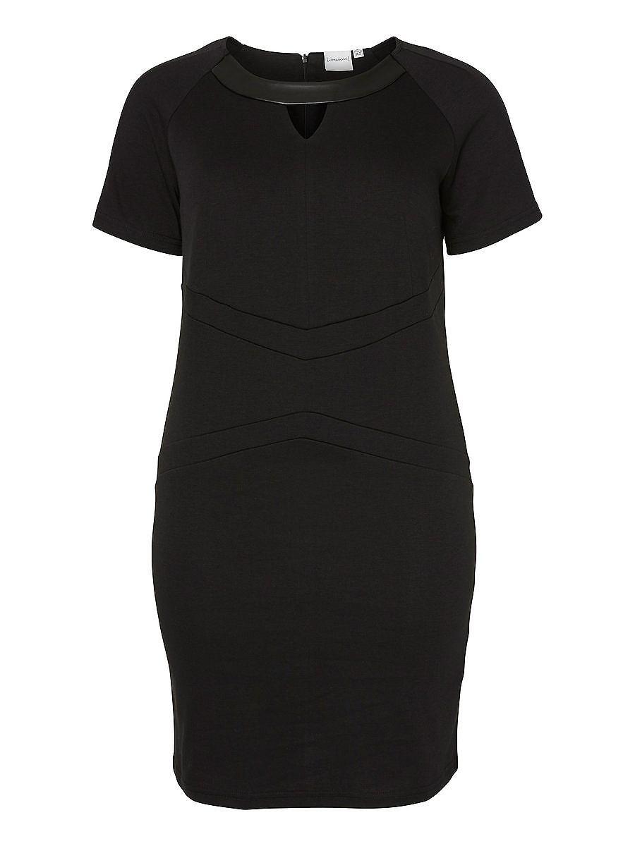 NU 15% KORTING: Junarose Korte mouwen jurk zwart