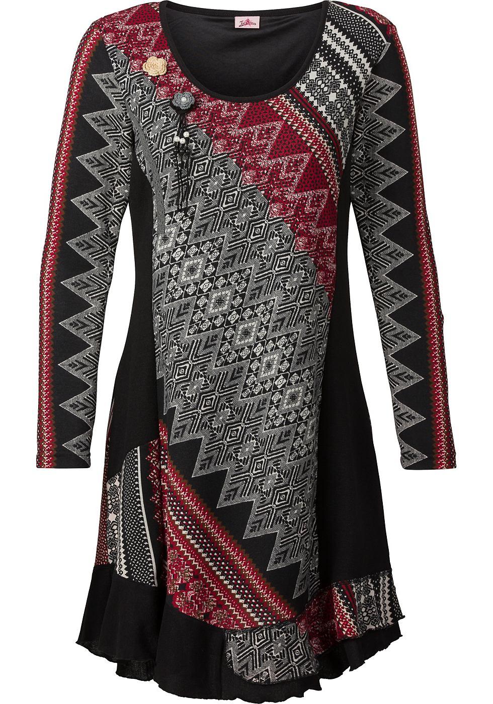Joe Browns Tricot-jurk in knievrije lengte zwart