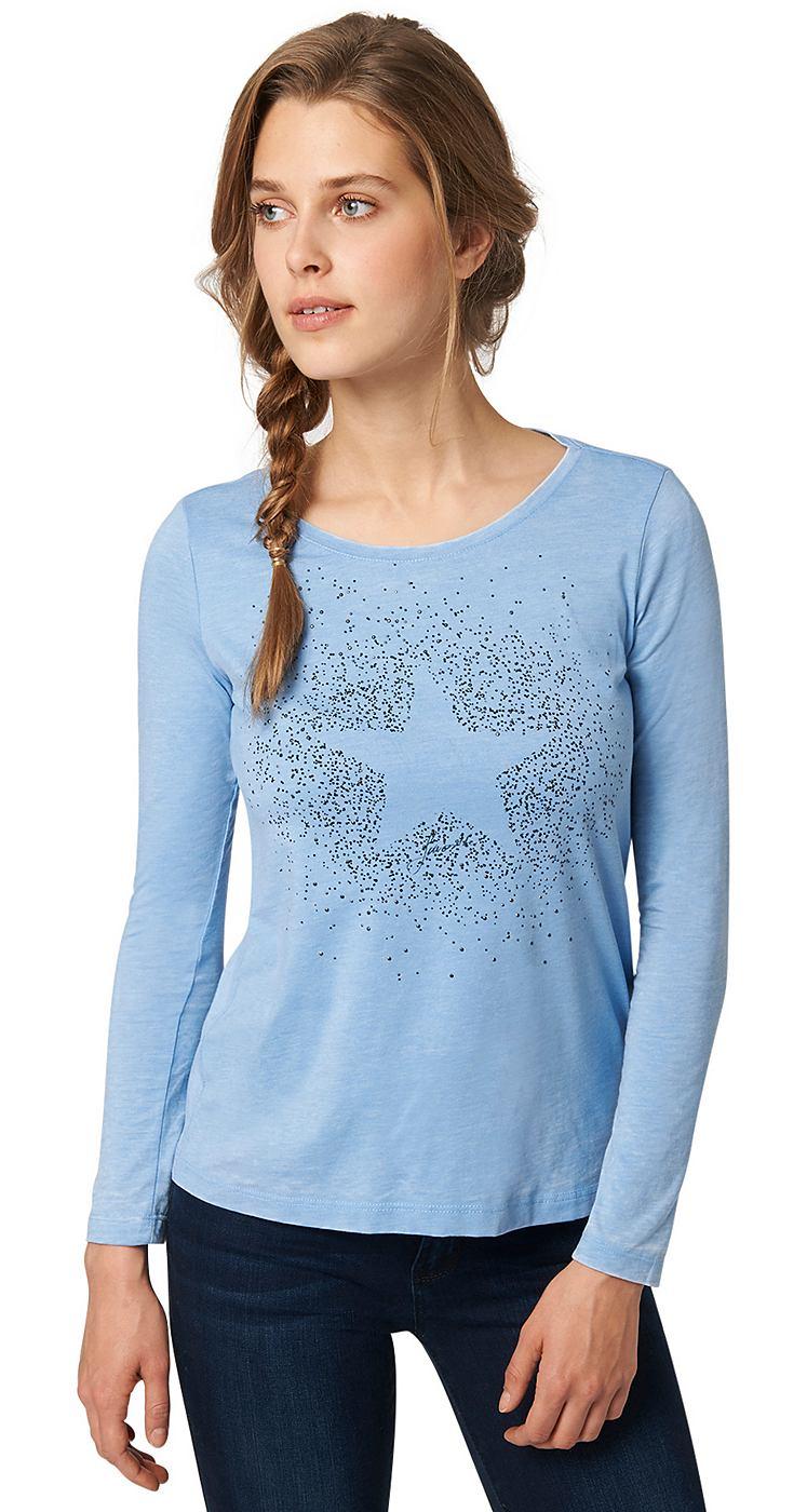 TOM TAILOR T-shirt sparkling star shirt
