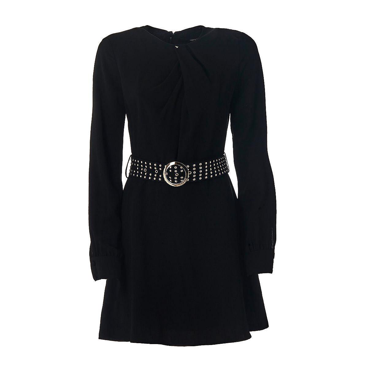 Guess jurk met lange mouwen zwart