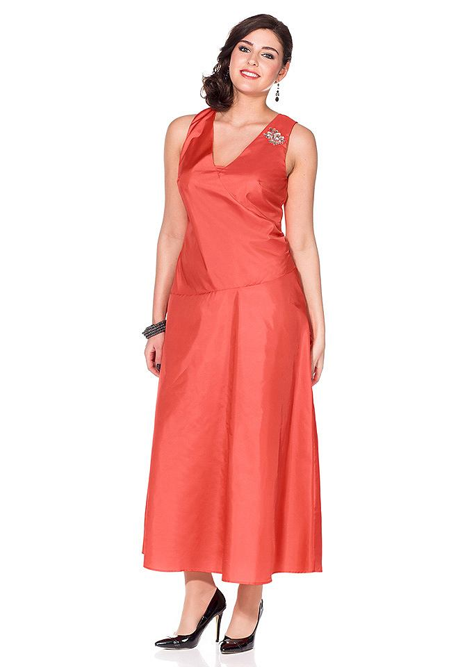 Sheego Style avondjurk rood