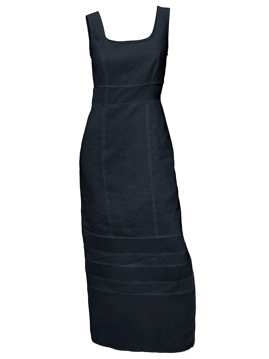 Linnen jurk blauw