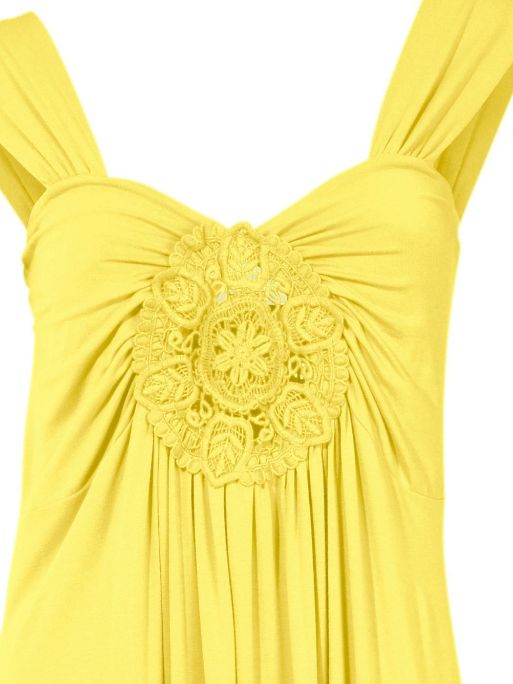 Shirtjurk geel