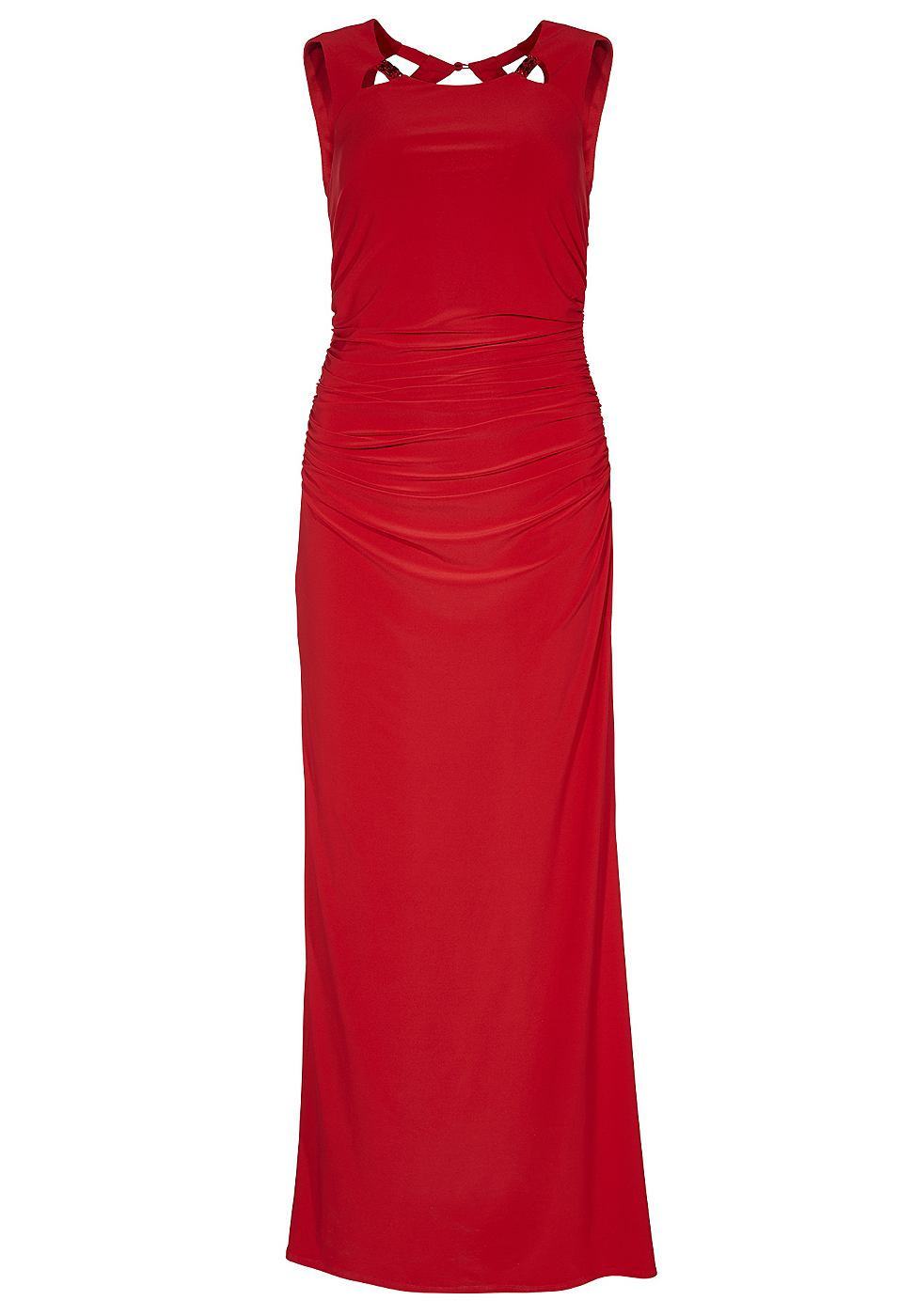 Apart jersey jurk rood