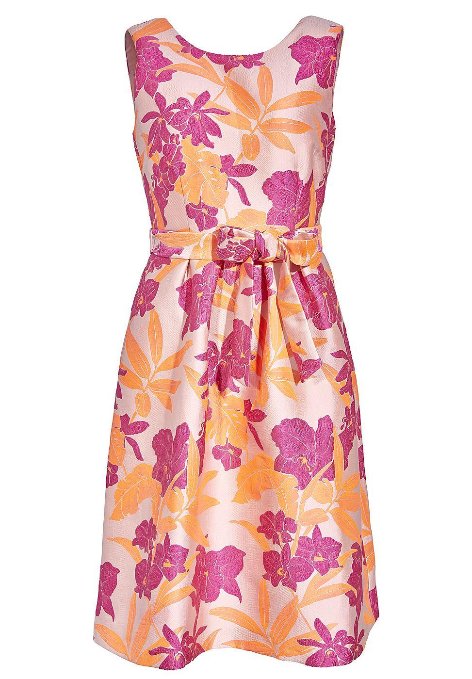 Apart Plooi jurk multicolor