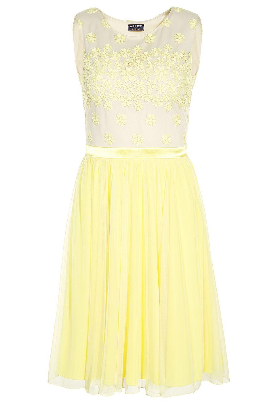 Apart jurk geel