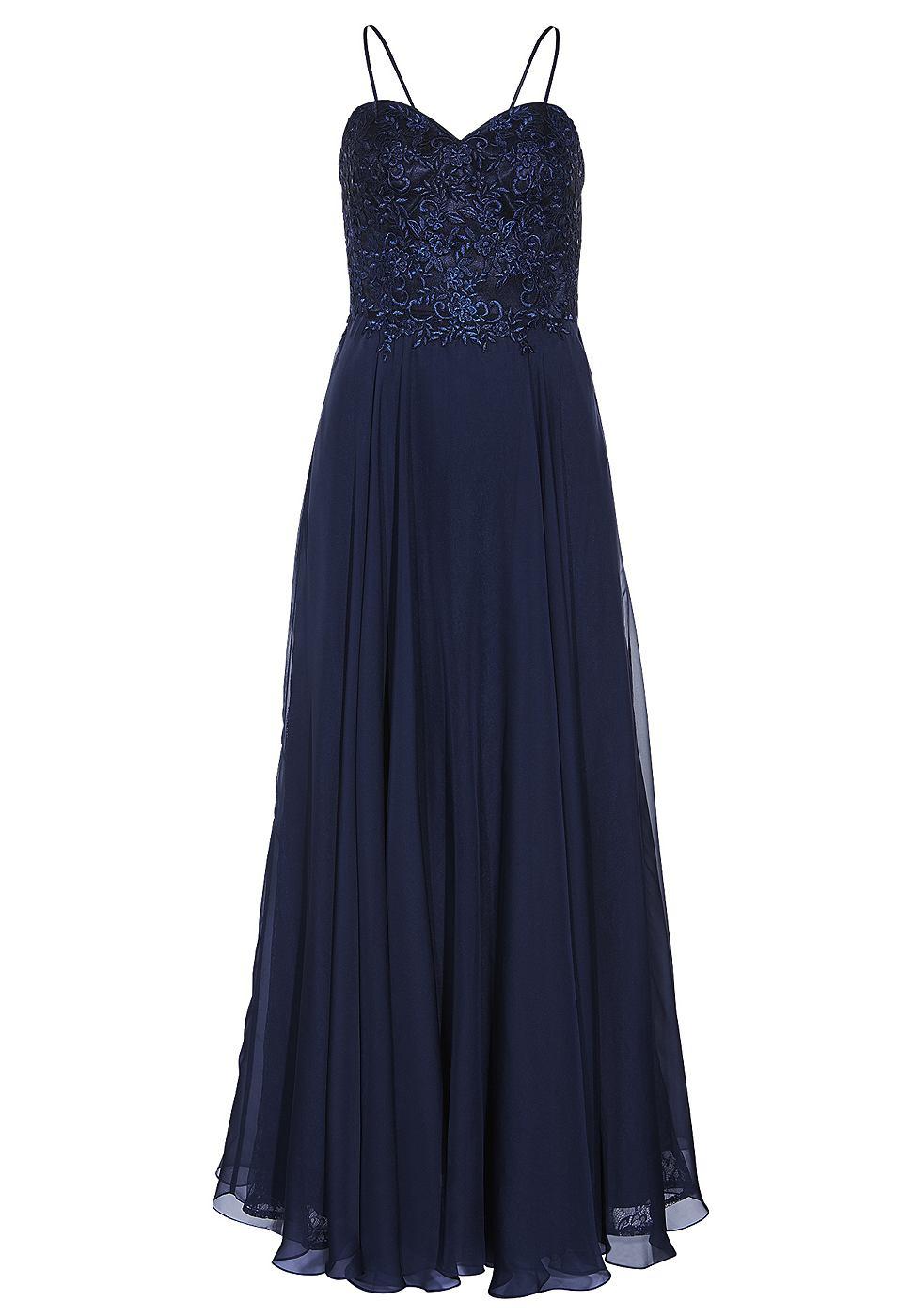 Apart Corsage jurk blauw