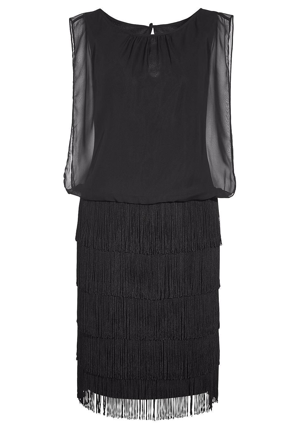 Apart jurk zwart