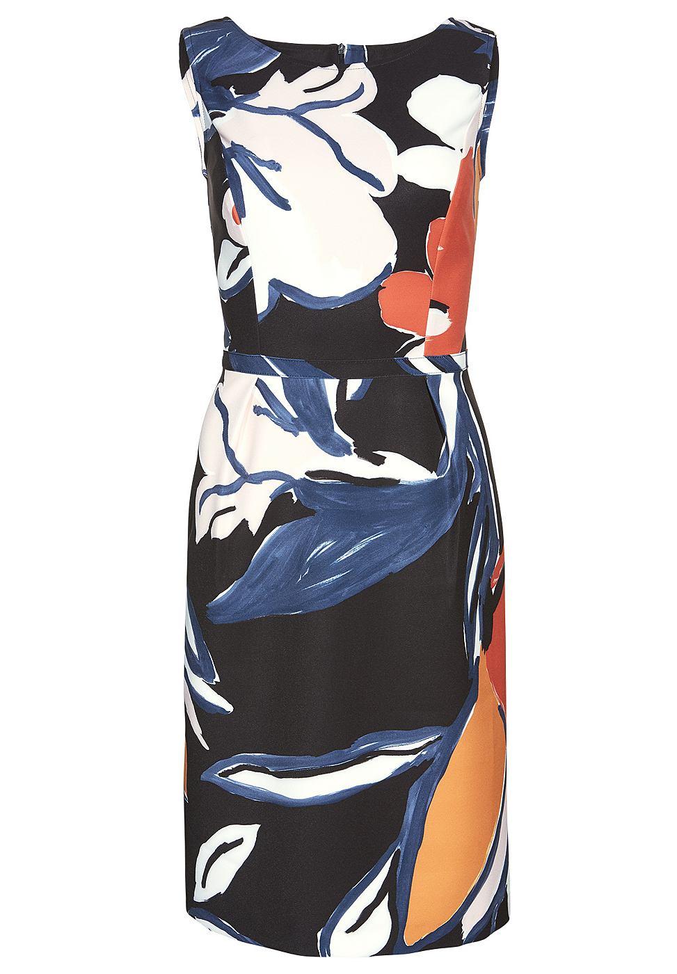 Apart jersey jurk multicolor