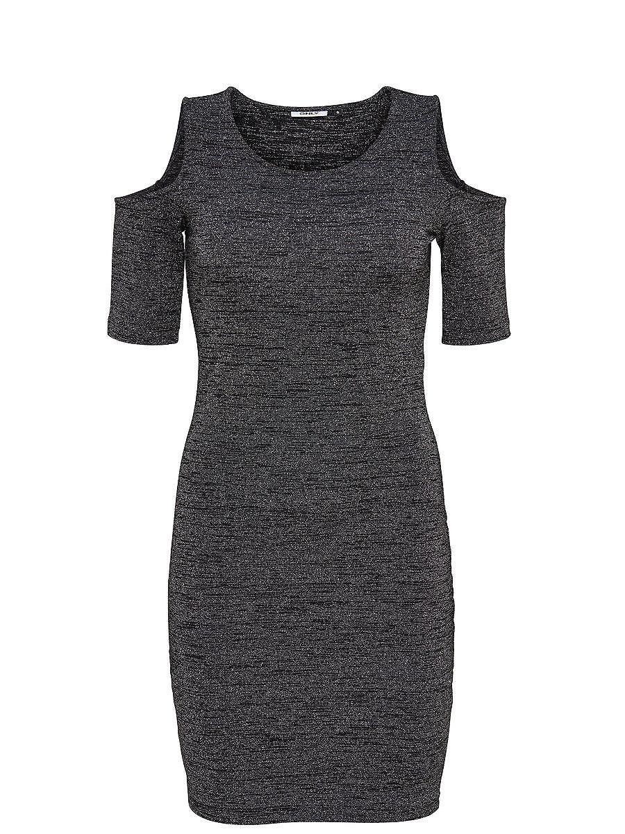 ONLY Gedetailleerde Korte jurk zwart