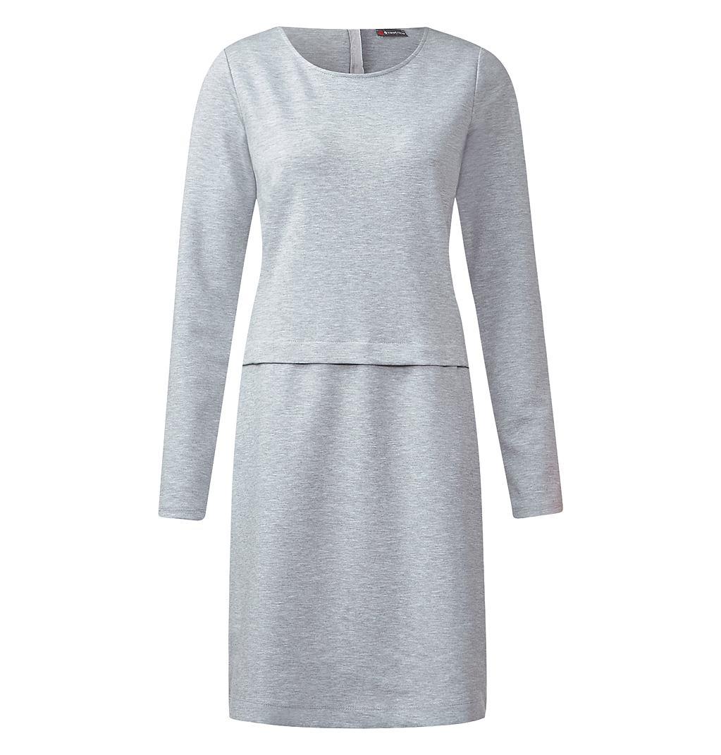 Street One jersey jurk Banu grijs