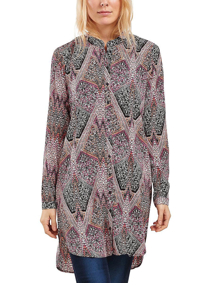 ONLY Lange print Overhemd met lange mouwen multicolor