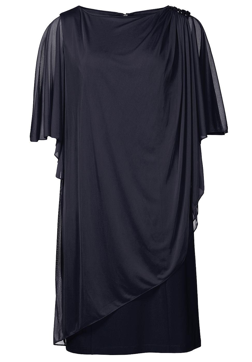 Apart jersey jurk blauw