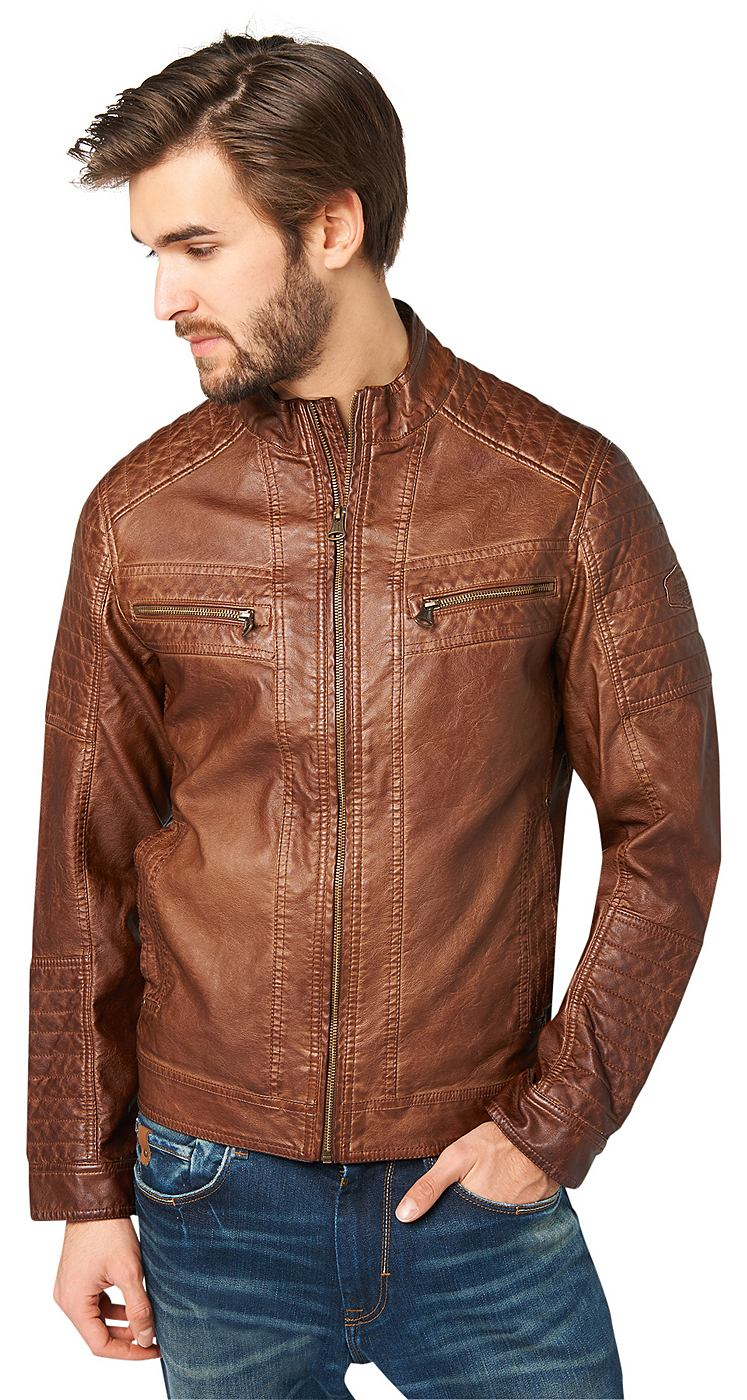 Tom tailor leather jacket