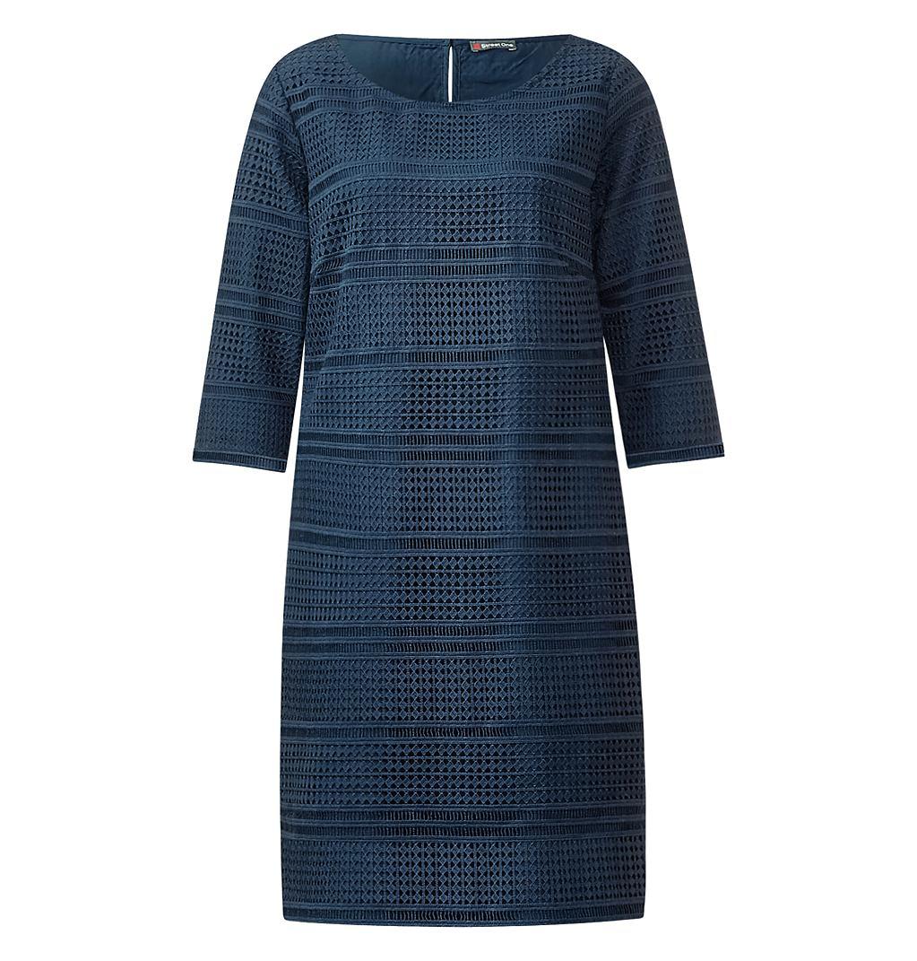 Street One kanten jurk Beverly blauw