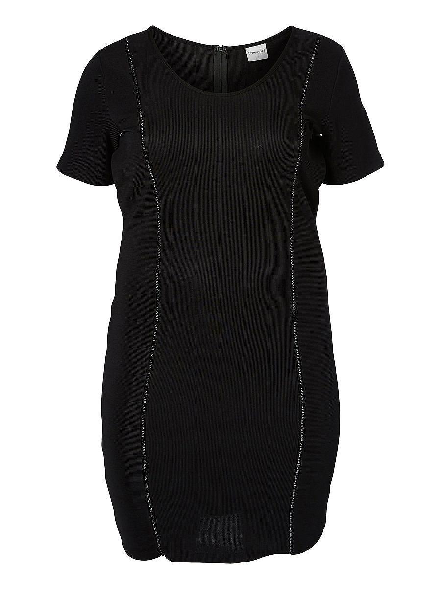 NU 15% KORTING: Junarose jersey jurk zwart