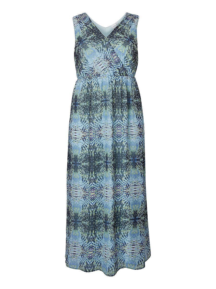 NU 15% KORTING: Junarose Met print Maxi jurk multicolor