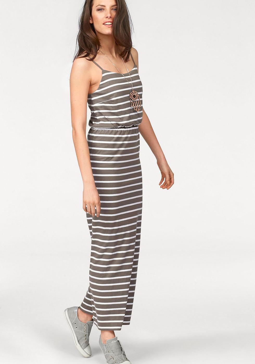 NU 21% KORTING: Aniston maxi-jurk groen