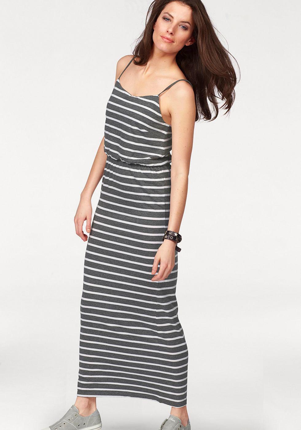 Aniston maxi-jurk grijs