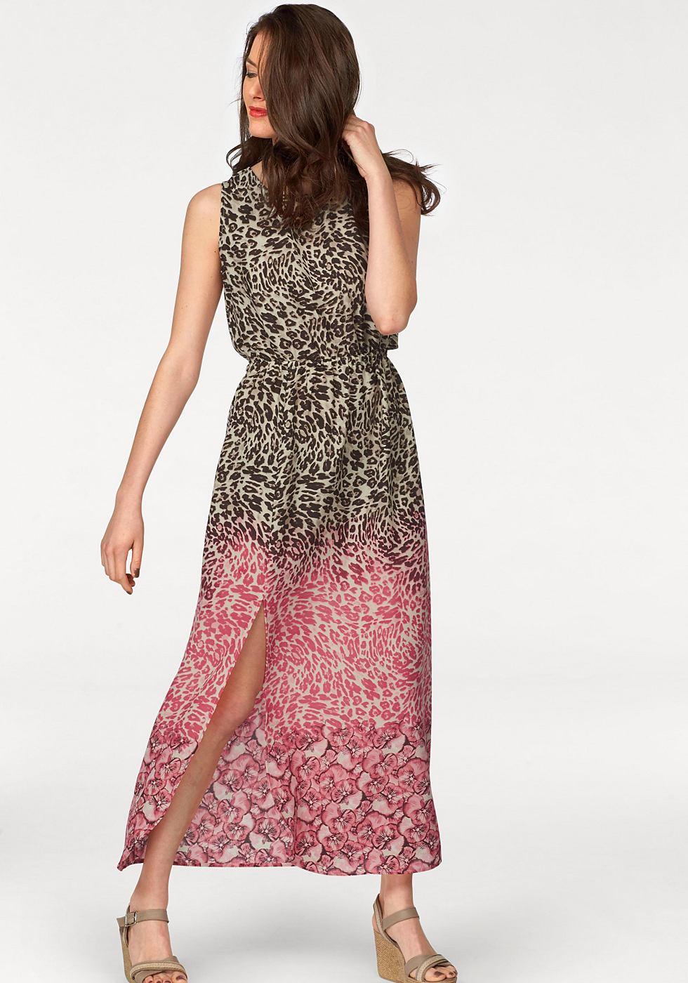 Vivance Collection maxi-jurk beige