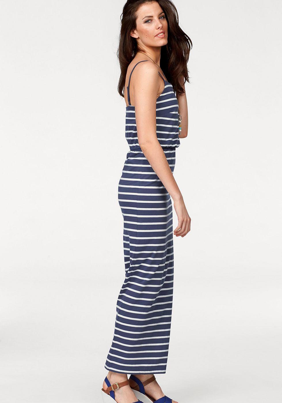 Aniston maxi-jurk blauw