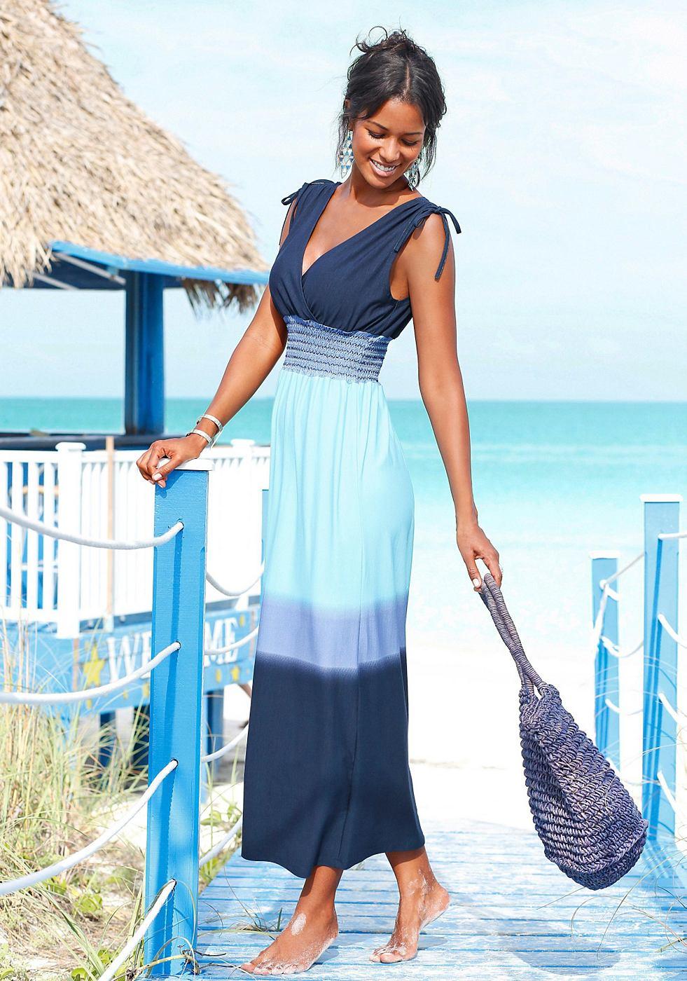 Lascana maxi-jurk blauw