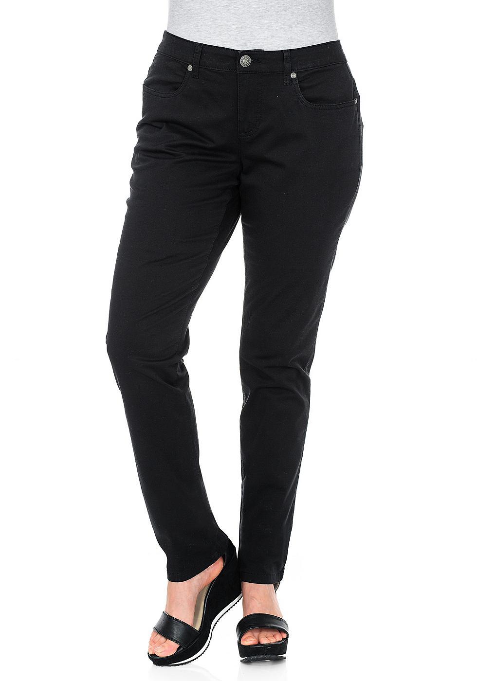 SHEEGO CASUAL Stretch-broek in smal model