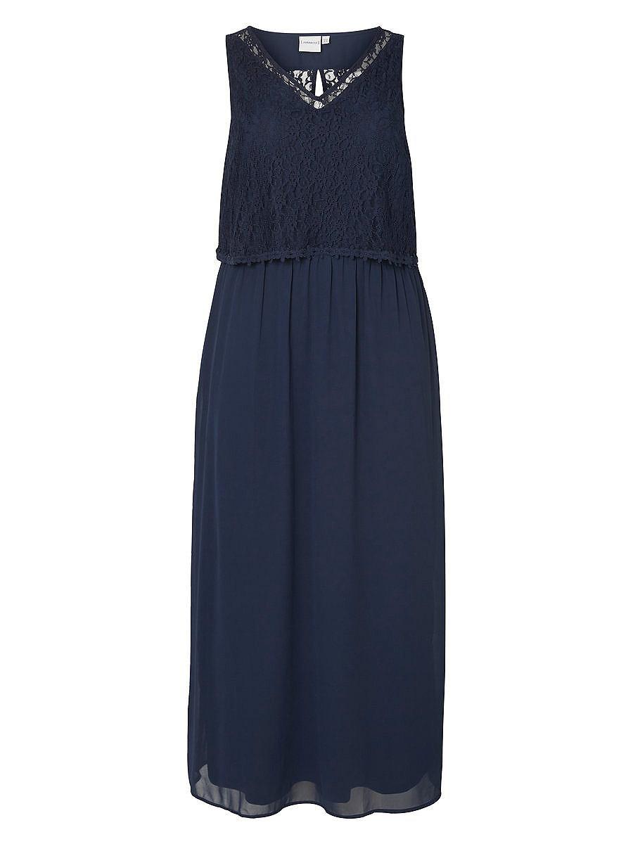 Junarose Maxi Midi jurk blauw