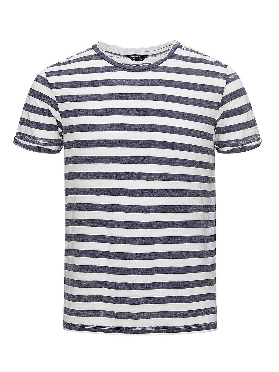 Jack & Jones Burnout gestreept T-shirt
