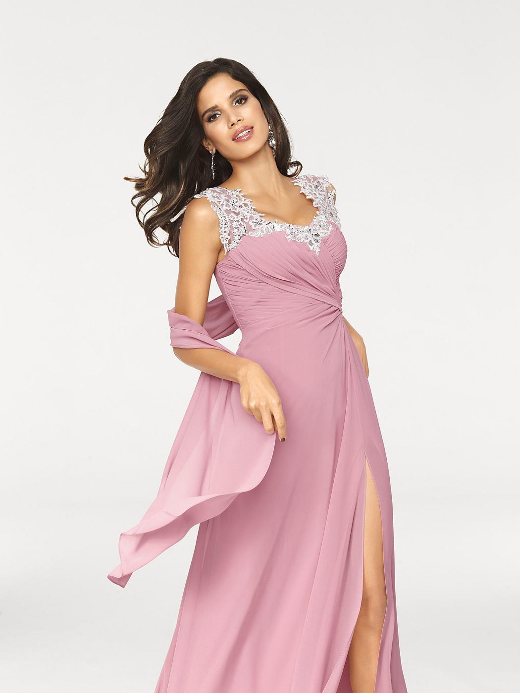 Ashley Brooke Avondjurk roze