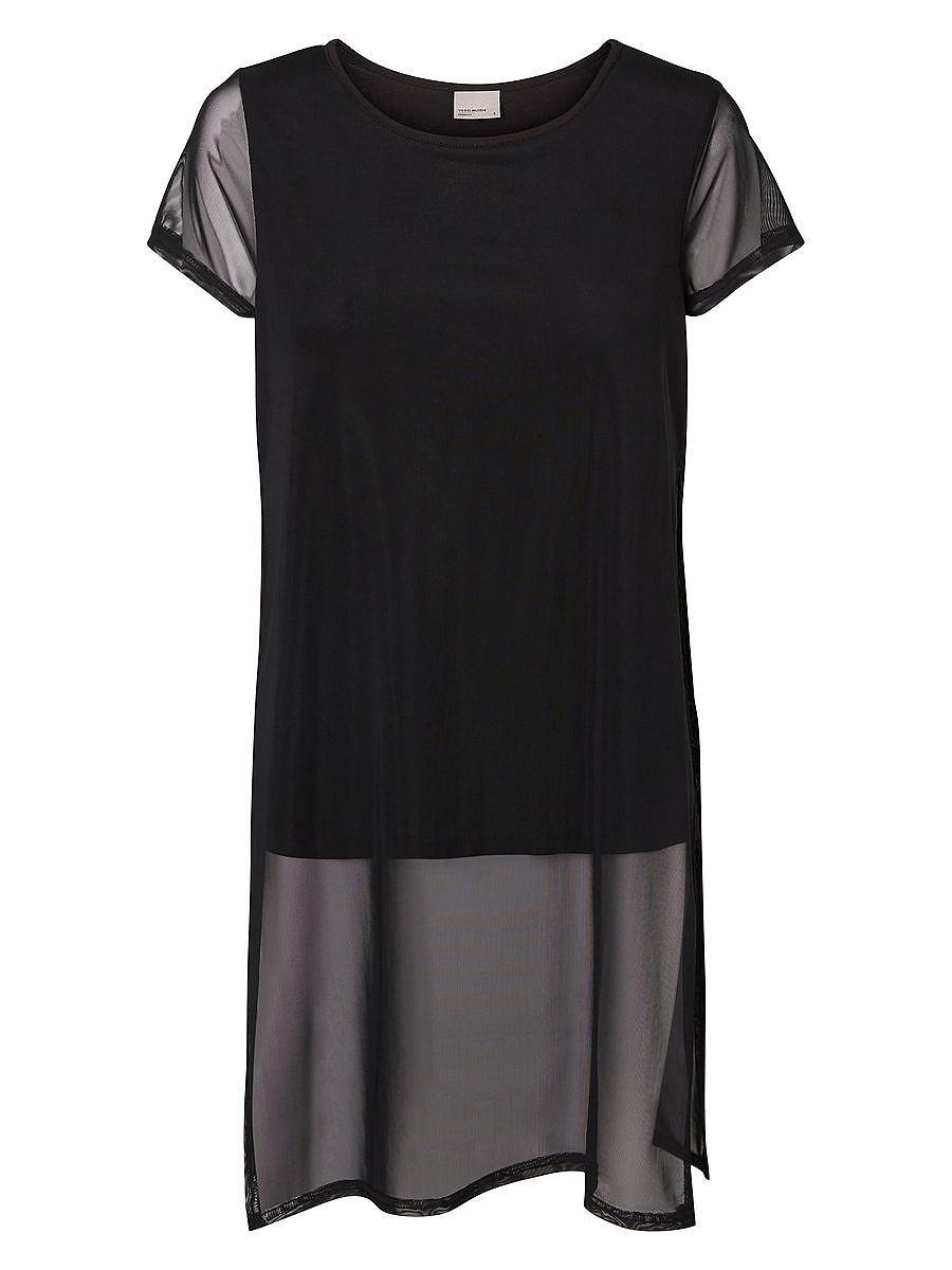 Vero Moda Korte mouw jurk zwart