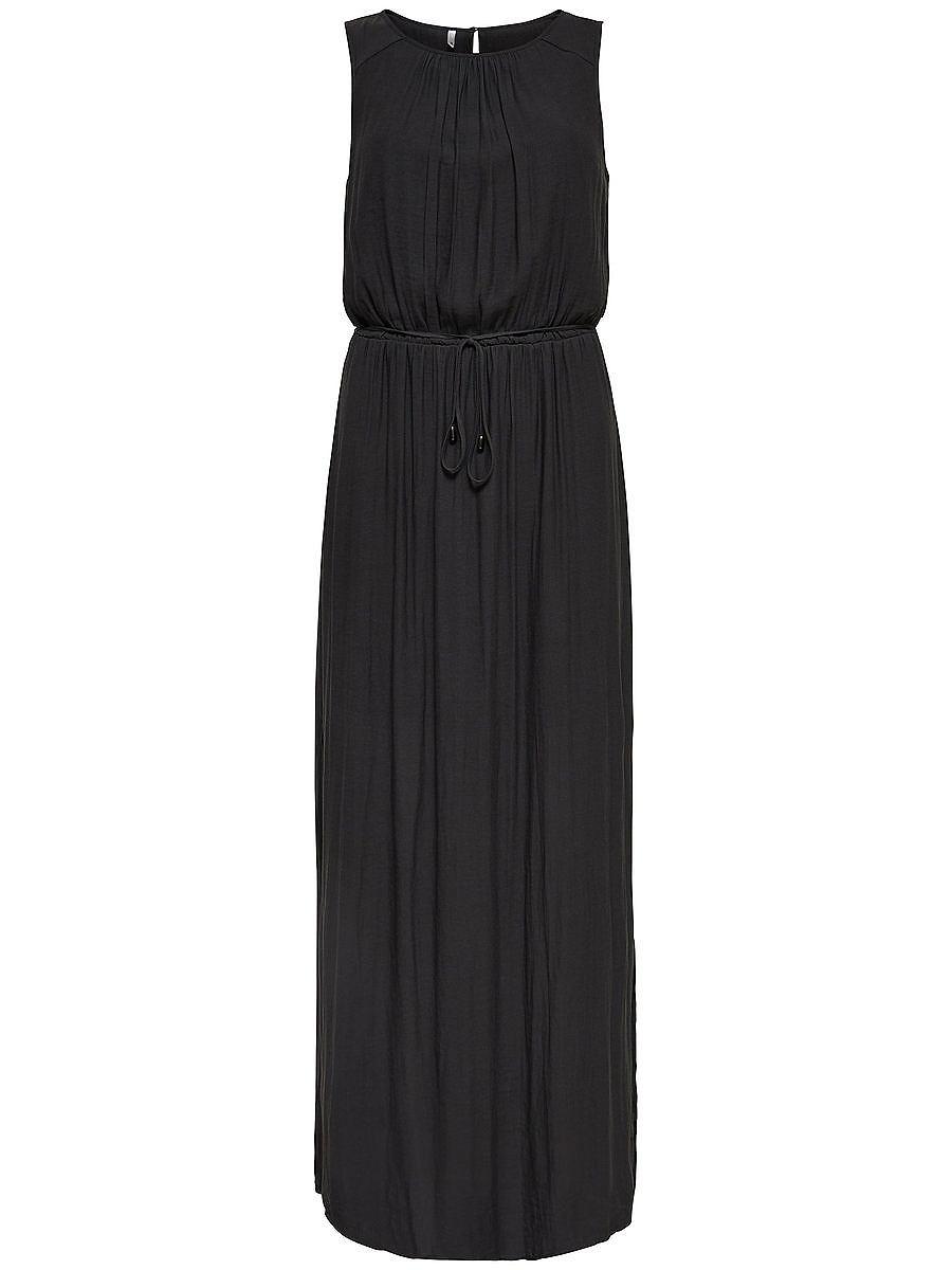 ONLY Mouwloze Maxi jurk grijs