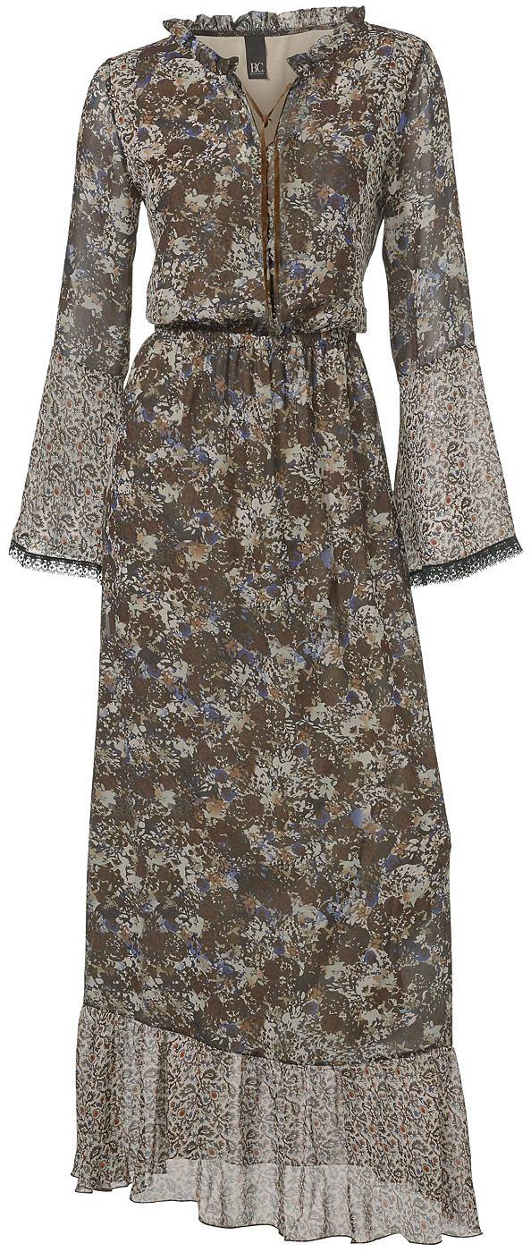 Maxi-jurk bruin