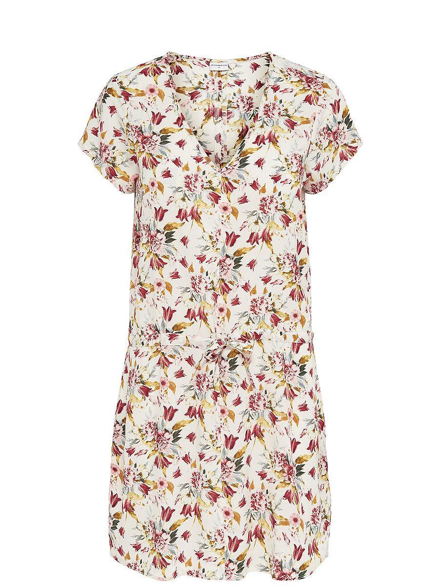 NU 15% KORTING: ONLY Print jurk met korte mouwen multicolor