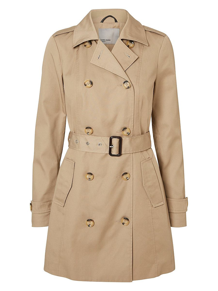 Vero Moda Double-breasted Trenchcoat