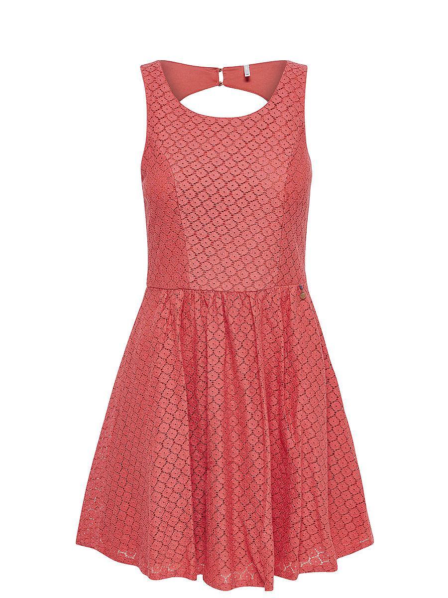 NU 15% KORTING: ONLY kanten Mouwloze jurk multicolor