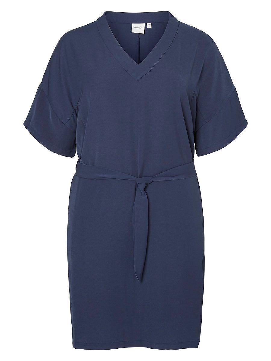 Junarose Kimono jurk blauw