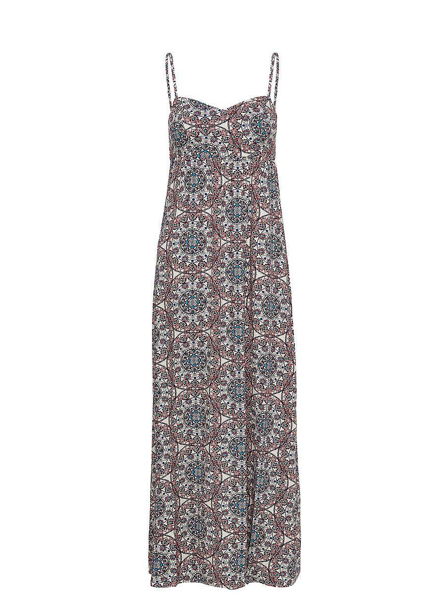 NU 15% KORTING: ONLY Print Maxi jurk wit