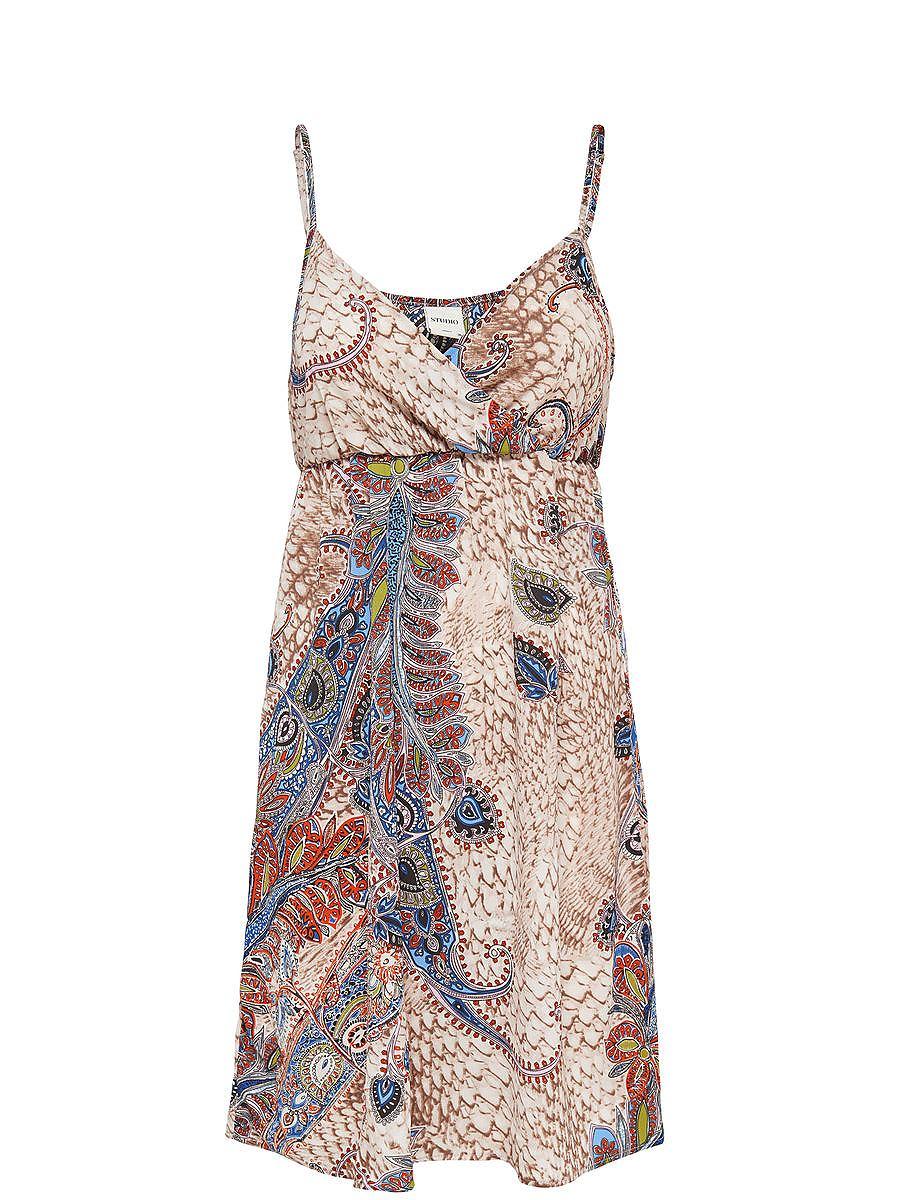ONLY Korte Mouwloze jurk multicolor