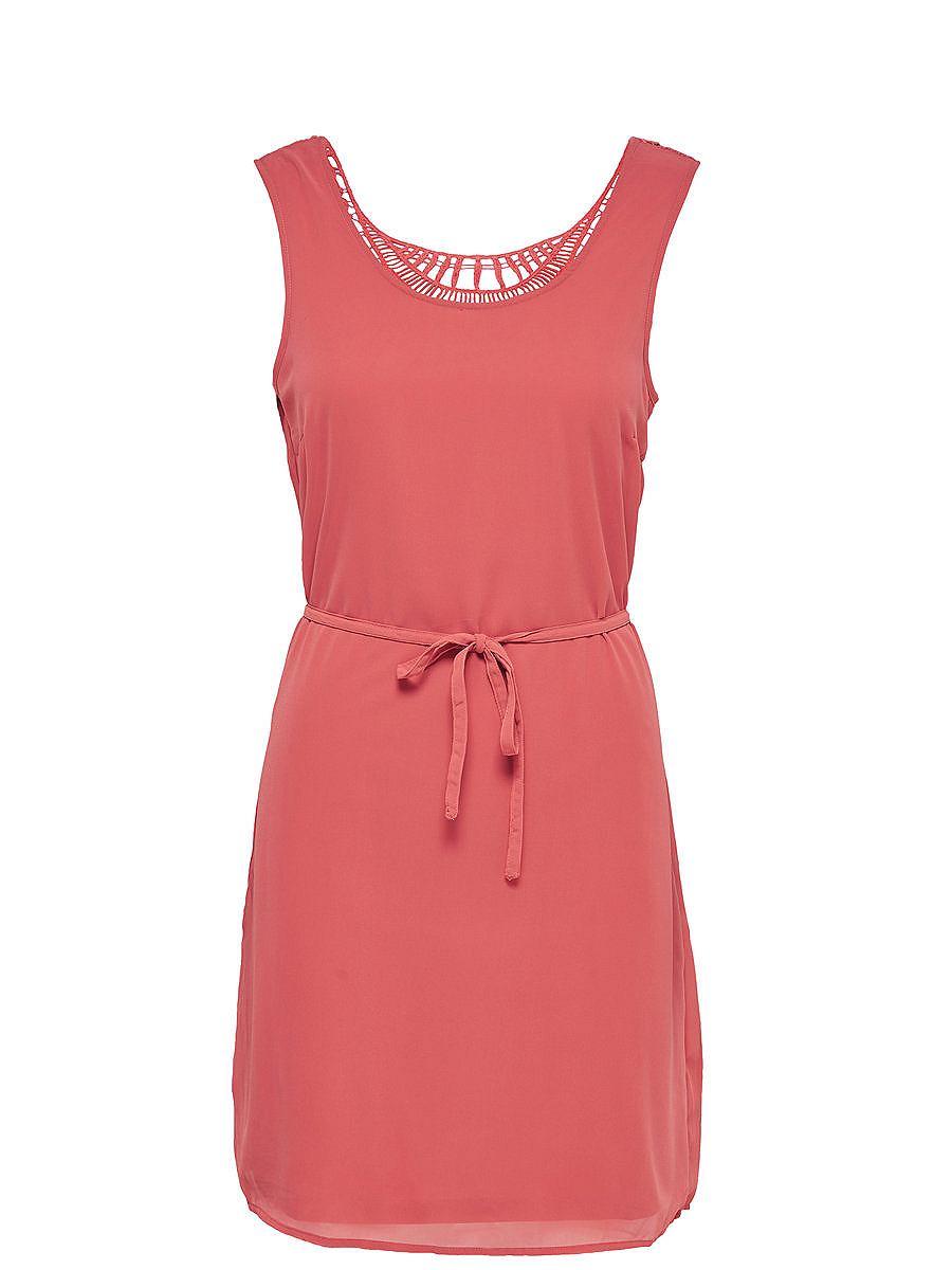 ONLY Gedetailleerde Mouwloze jurk multicolor