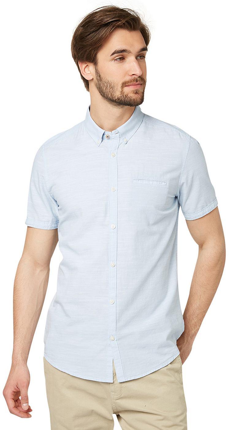 TOM TAILOR Hemd »Floyd slub detail shirt«