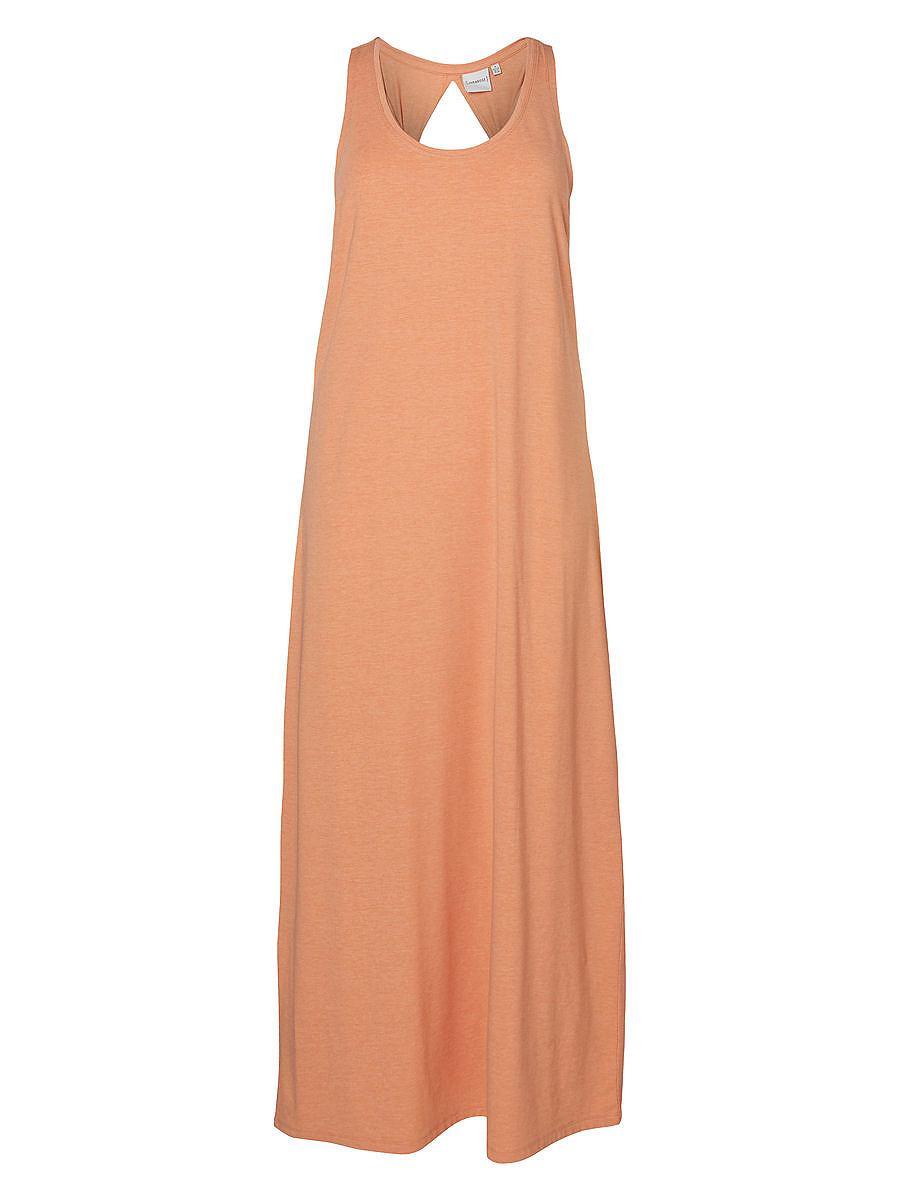 Junarose Maxi jurk oranje