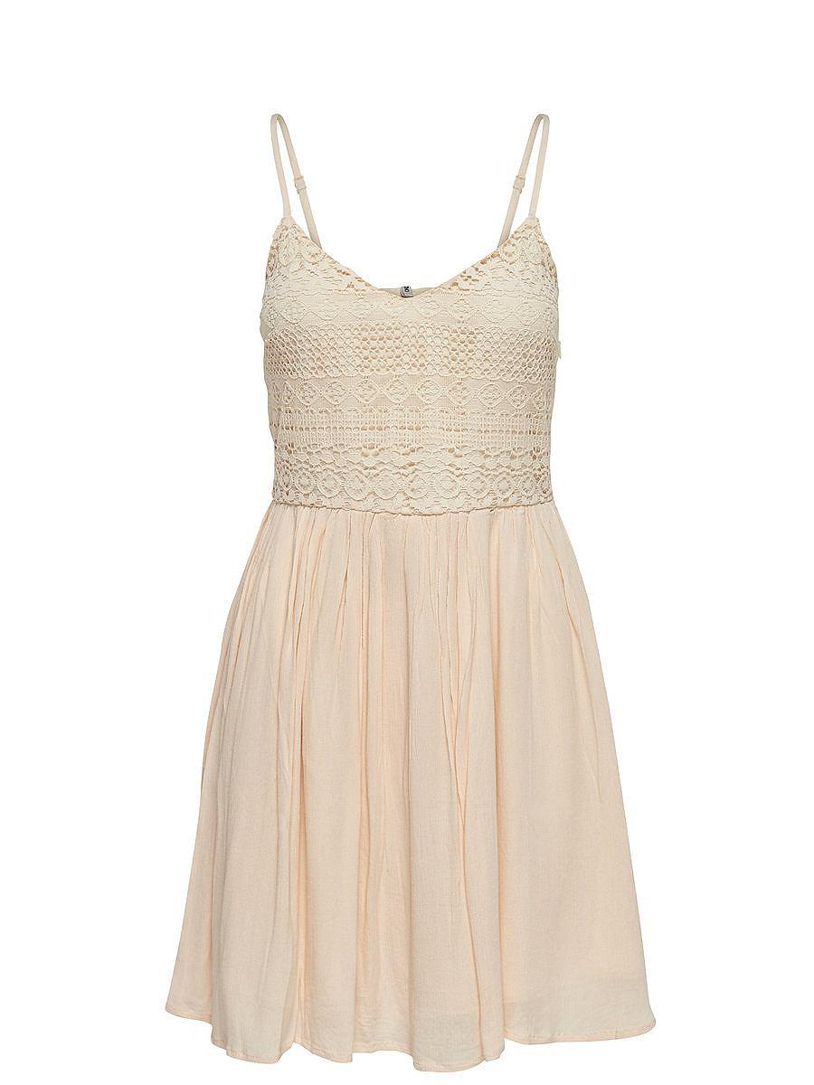 NU 15% KORTING: ONLY Gedetailleerde Mouwloze jurk wit