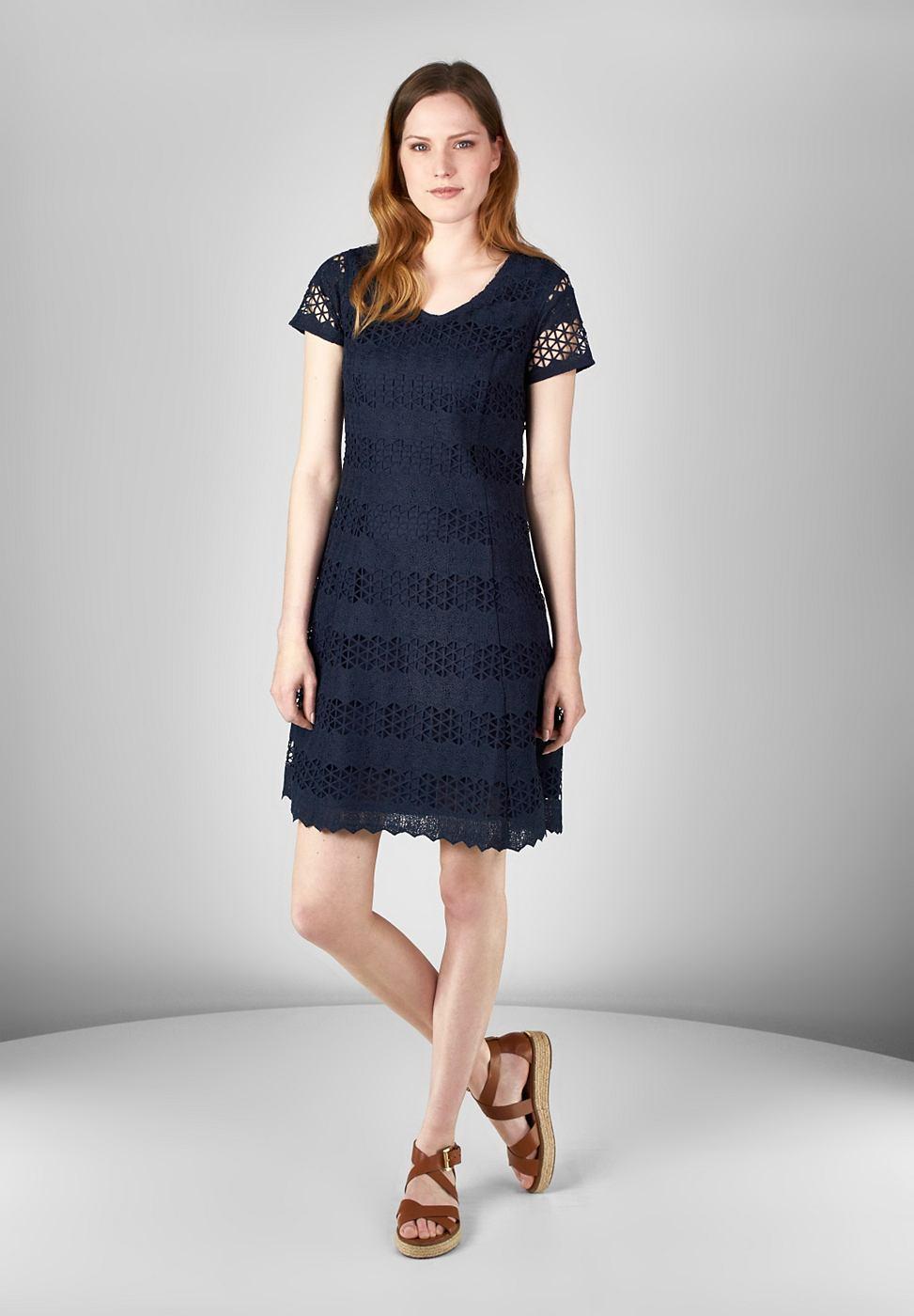 Street One kanten jurk Onora blauw