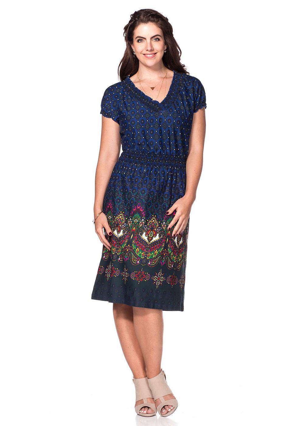 Joe Browns jurk van jersey blauw