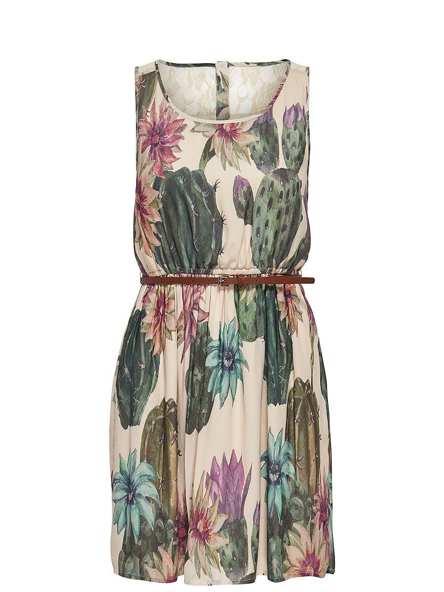 ONLY Print Mouwloze jurk multicolor